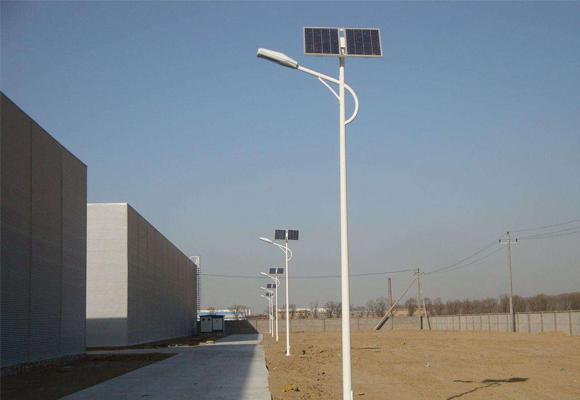 四川農村太陽能路燈